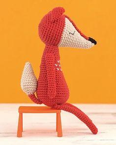 Ravelry: James the Fox pattern by Alison North Crochet Animals, Crochet Hats, Fox Pattern, Ravelry, Dinosaur Stuffed Animal, Crochet Patterns, Foxes, Knitting, Amigurumi