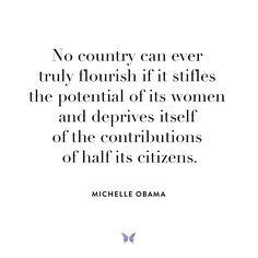 Michelle Obama - Inspiration - For more, visit: www.shebrand.com