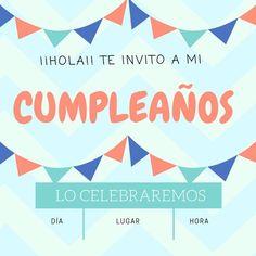 invitaciones de cumpleaños gratis 10 Year Old, 10 Years, I Party, Birthday Invitations, Ideas Para, Birthdays, Relationship, Display, Happy