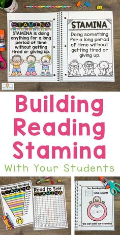 This Reading Stamina set will help build stamina with students. You will receive 32 pages of anchor charts, posters, and graphing sheets to help your kids build stamina while having fun! This product is perfect for the and grade classroom. What Is Reading, Reading Goals, Student Reading, Teaching Reading, Guided Reading, Stamina Anchor Chart, Anchor Charts, Building Reading Stamina, Read To Self