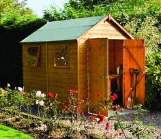 The Premier 8ft x 6ft gives you just that little bit more than standard sheds.
