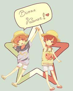 Buone Vacanze by ChocoHal.deviantart.com on @deviantART