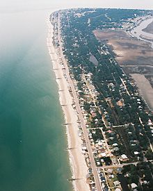 Edisto Island, South Carolina Aerial view.