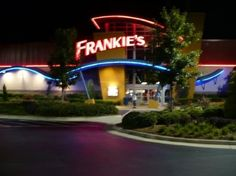 Frankie's Fun Park in Durham, NC.....great place to take kids. Has video games, go karts, rides, batting cages, mini golf, and laser tag.
