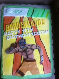 Okay sure, cool cake and all, but what the hell is an 11 year old doing playing this game?