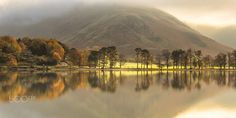 ***Autumn on Buttermere (Lake District, England) by Fine Art - Landscapes on 500px