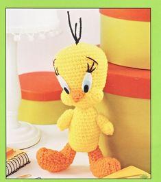 Tweety Bird Crochet.