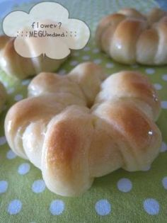 「お花のメープルパン」MEGUmama | お菓子・パンのレシピや作り方【corecle*コレクル】
