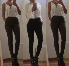 (2) Pantalon Mujer Vestir Gabardina Elastizadoelstizado Chupin - $ 560,00 en MercadoLibre