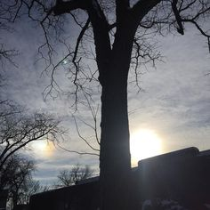 Binary sun illusion.  #sundog #sun #sky #cloud #rainbowcloud #denvercolorado #denver #colorado #coloradogram #colordotography #milehighcity #milehighsky