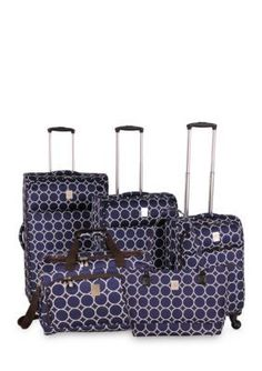 Jenni Chan   Aria Park Ave Luggage Collection Navy