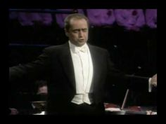 """José Carreras Sings - Una Furtiva Lagrima (Donizetti) - """"A tribute To Ma..."""