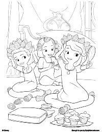 pin by april williams on coloring pages pinterest - Sofia Coloring Pages