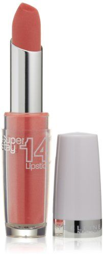 Maybelline New York Superstay 14 hour Lipstick, Keep Me Coral, 0.12 Ounce $7.51 (16% OFF)