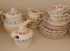 Emma Bridgewater Mud Pies & Fairy Cakes Dollies Tea Set of my daughter!