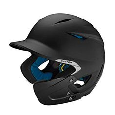Easton Junior Pro X Matte Batting Helmet w/ Jaw Guard, Black Easton Sports, Baseball Helmet, Softball Equipment, Personal Defense, Personal Care, Paintball Guns, Riding Helmets, Abs, Stand Tall