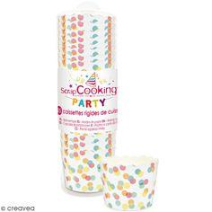 Compra nuestros productos a precios mini Moldes de cocción Confettis - 25 uds - Entrega rápida, gratuita a partir de 89 € !