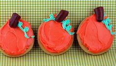 Pumpkin Patch Sugar Cookies