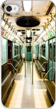iphone 5 case - New York City Subway in Mint Green - NYC Photography - Subway Art - iphone 5 hard case mint green. $40.00, via Etsy.