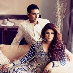 """Akshay who doesn't miss a chance to show his love for his gorgeous wife, took to Instagram on Twinkle's birthday, to post an adorable picture of the two of them with the caption, """"Your love, humour and madness make me keep falling in love with you every single day...Happy birthday Tina, never change."""""""
