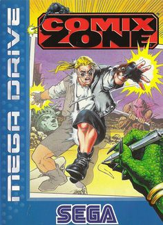 Comix Zone - THE FIRST TRULY INTERACTIVE COMIC BOOK! Play Online