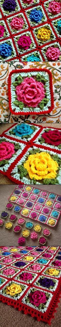 Babouska Rose - Pattern info and custom piece at babylovebrand.net