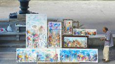 cuba-street-art Art is everywhere in the streets of Havana.