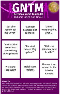 Bild zu Germany's next Topmodel #GNTM Finale Bullshit-Bingo