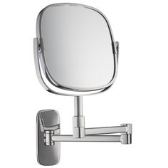 Different shape. Cute!! Burford Extendable Magnifying mirror by Robert Welch from John Lewis