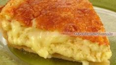 Receitas - Torta Três queijos - Petiscos.com