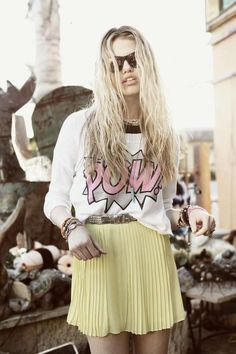 Hayley Clauson - Pow Tee