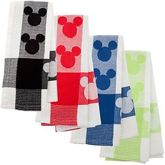 Mickey Kitchen Towel. Since it's needed, they might as well be fun and cute :))