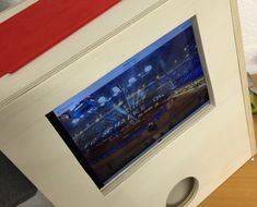 Photobooth-im-bau-mit-iPad Ipad App, Ipad Air 2, Diy Fotokabine, Diy Photo Booth, Partys, Flat Screen, China Cabinets, Hobby, Sweet 16