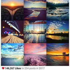Horizons and Twilight... thanks friends for the visual feast that was 2017! . #bestnineof2017 #shareyoursunset #photographyinbrisbane #horizons #twilight #dusk