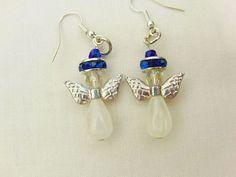Earrings Jewellery Christmas Angel Accessories by OswestryJewels