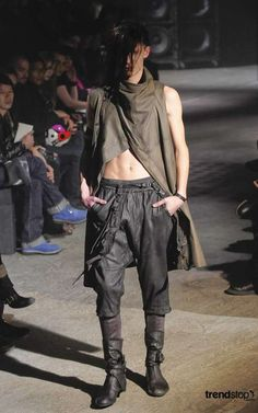 Post-Apocalyptic Menswear - Julius Fall Winter 2010 Channels Cormac McCarthy (GALLERY)