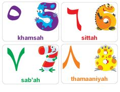 How many different languages can your child count in? Start teaching and see! Use these free, printable Arabic flashcards to help your Arabic Alphabet Letters, Arabic Alphabet For Kids, Learning Arabic, Kids Learning, Ramadan, Number Flashcards, Abc Cards, Arabic Phrases, Arabic Quotes