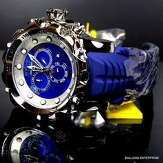 Invicta Wristwatches for Sale Stylish Watches, Luxury Watches For Men, Cool Watches, Rolex Watches, Invicta Reserve, Leather Watch Bands, Venom, Ebay, Sea Dragon
