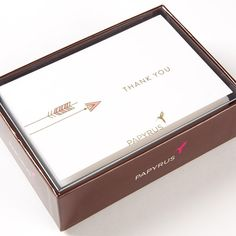 Arrows Boxed Thank You Notes (Set of 16)