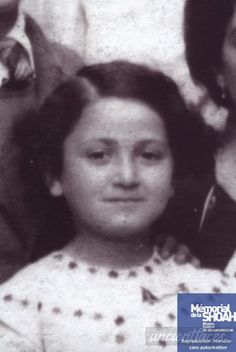 Josiane Zerdoun Josiane was only 9 when she was sadly murdered at Auschwitz on February Murder Stories, Old Commercials, History Images, Forced Labor, Young Life, Never Again, February 12, Child Face, Childhood