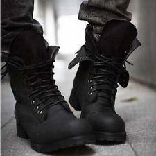 2 Colores Retro combatir Botas Invierno england-style De Moda Para Hombre Corta Zapatos