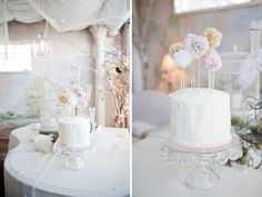 Shabby Chic BabyShower - Cake Toppers