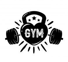 Free T Shirt Design, Cute Shirt Designs, Fitness Jokes, Fitness Logo, Emom Workout, Gym Design, Logo Design, Gym Logo, Gym Decor