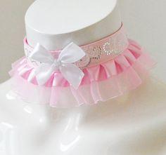 Ddlg day collar  Dreamy princess  fairy kei harajuku little