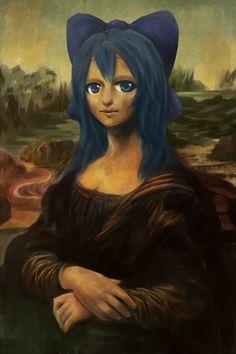 Leonardo da Vinci - Mona Lisa (przeróbki)