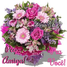 The perfect Flowers Bouquet ForYou Animated GIF for your conversation. Flowers Gif, Glitter Flowers, Beautiful Bouquet Of Flowers, Beautiful Roses, Real Flowers, Happy Birthday Bouquet, Bouquet Champetre, Glitter Graphics, Jolie Photo