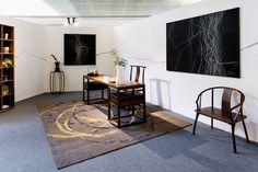 Home furnishings shop Haozai's Beijing Design Week installation.