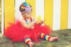 Let's Go To The Circus Tutu Set Carnival Theme by Kutiebowtuties, $39.95