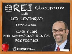 Lex Levinrad explains how to calculate your positive cash flow on rental properties and how important it is to treat it as a business.