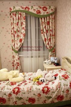 Inspirational schemes that we seriously like! Cottage Curtains, Curtains And Draperies, Home Curtains, Valance Window Treatments, Window Coverings, Cornices, Drapery Designs, Curtain Styles, Elegant Dining Room